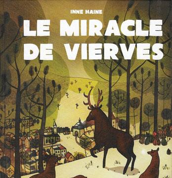Couverture BD Miracle de Vierves Inne Haine