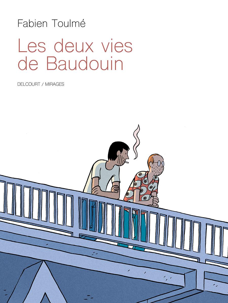 Couverture BD Les deux vies de Baudouin