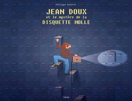 Couverture BD Jean Doux et le mystère de la disquette molle