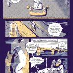 Extraits planches BD Salud !