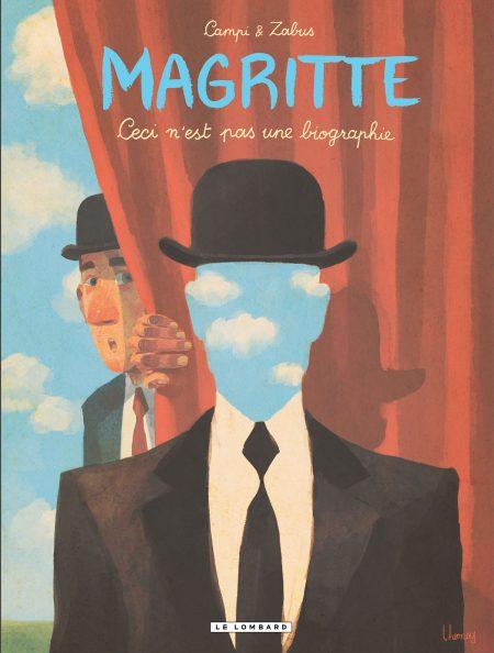 Couverture BD Magritte