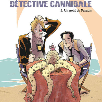 couverture tony chu detective cannibale