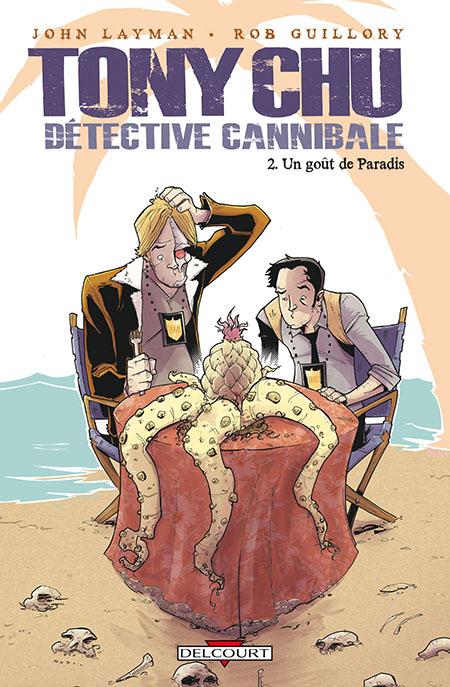 couverture tony chu detective cannibale