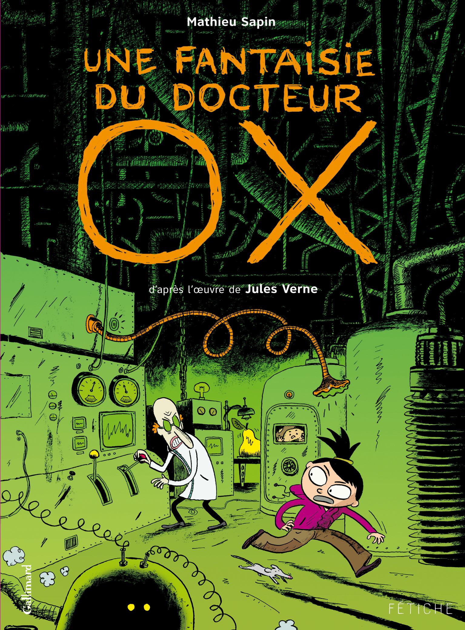 Une fantaisie du Docteur Ox Mathieu Sapin