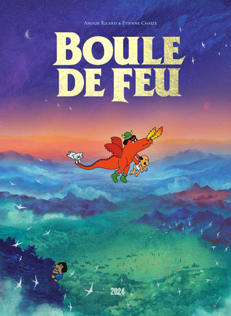 Boule de Feu - en sélection Ouest-France Quai des Bulles 2019